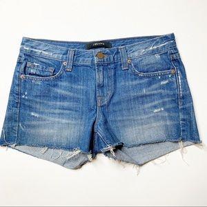 J Brand denim shorts Libra Distressed size 25